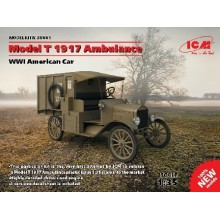 1:35 FORD MODEL T 1917 AMBULANCE