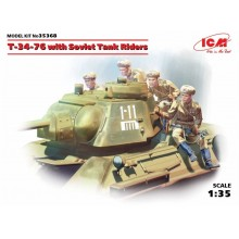 1:35 T-34/76 WITH SOVIET TANK RDERS