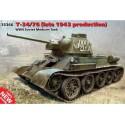 1:35 WWII Soviet Medium Tank T-34/76