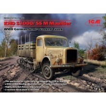 1:35 KHD S3000/SS M Maultier WWII German Semi-Tracked Truck