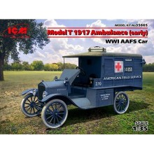 1:35 Ford T 1917 Ambulance (Early) WWI AAFS Car