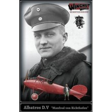 1:32 Albatros D.V 'Manfred von Richthofen' (resin figure included)
