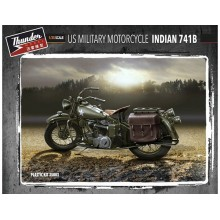 US Military Indian 741B (2 kits in box) 1:35 COMBO