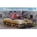 E-100 Heavy Tank -Krupp Turret in 1:35
