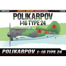 1:48 POLIKARPOV I-16 TYPE 24 LIM. ED.