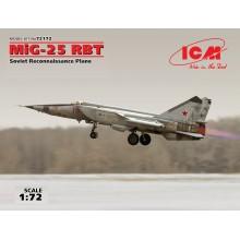 MIG-25 RBT SOVIET RECONNAISSANCE PLANE 1/72