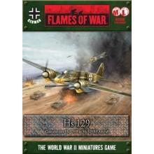 Henschel Hs-129 Single Plane Box 1:144
