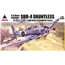 1:48 U.S. Navy Bomber SBD-4 Dauntless