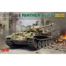 1:35 Panther Ausf.G Early/ Late productions