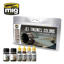 JET ENGINES COLORS AND WEATHERING SET