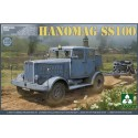 1:35 TWWII German Tractor Hanomag SS100