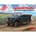 1:35 LE.GL.PKW KFZ.1, WWII GERMAN LIGHT PERSONNEL CAR 1/35
