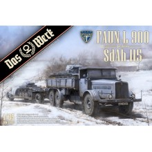 PRE-ORDER 1:35 Faun L900 truck and Trailer SdAh 115