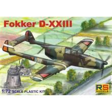 Fokker D-XXIII 1:48