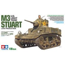 1:35 US Light Tank M3 Stuart - Late Production