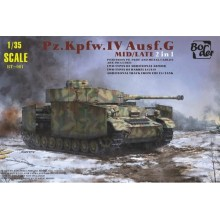 1:35 Panzer IV Ausf.G Mid/Late 2in1