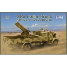 1:35 3Ro Italian Truck with 100/17 100mm Howitzer