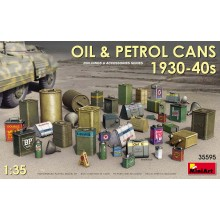 1:35 OIL & PETROL CANS 1930-40s