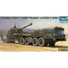 PRE-ORDER Russian KZKT-7428 Transporter with KZKT- -9101 Semi Trailer
