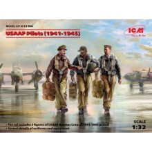 1:32 USAAF Pilots (1941-1945) (3 figures)