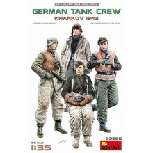 German Tank Crew.Kharkov 1943