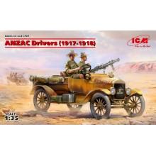 1:35 ANZAC Drivers (1917-1918) 2 figures