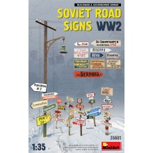 1:35 Soviet Road Signs WW2