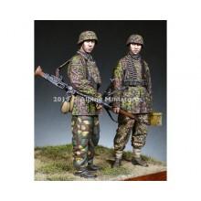 """1/35 MG Team 12 SS """"HJ"""" Set 2 figures"""