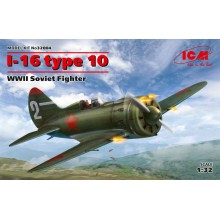 1:32 I-16 type 10, WWII Soviet Fighter