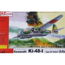 KI-48-I LILY WITH I-GO MISSILE UPGRADED KIT 1:48