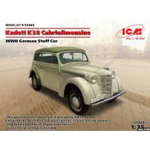 Kadett K38 Cabriolimousine,WWII German Staff Car 1:35