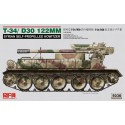 1:35 T-34/D-30 122MM SYRIAN SELF-PROPELLED HOWITZER