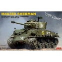 1:35 SHERMAN M4A3E8 W/Workable Track links
