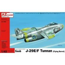SAAB J-29E/ F TUNNAN 1:48