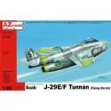 PRE-ORDER SAAB J-29E/ F TUNNAN 1:48