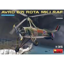 PRE-ORDER AVRO 671 ROTA MK.I RAF 1:35