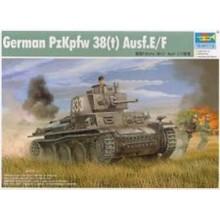 1:35 German PzKpfw 38(t) Ausf.E/F