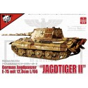 1:35 German WWII E75 Jagdtiger II w.128mm gun in 1:35