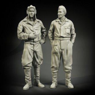 US Army tanker in winter wear set