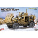 PRE-ORDER 1:35 US MRAP ALL TERRAIN VEHICLE M1240A1 MATV