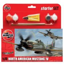 North American Mustang IV Starter Set 1:72