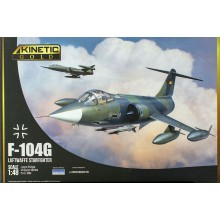 PRE-ORDER 1:48 F-104G Germany Air Force and Marine