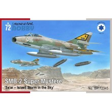 1:72 SMB-2 SUPER MYSTÈRE 'SA'AR – ISRAELI STORM IN THE SKY'