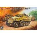1:35 Stummel Sd.Kfz.251/9 Ausf.D 7,5cm KwK37