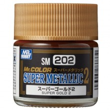 SUPER METALLIC SUPER GOLD 2 (18 ML)