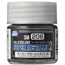 SUPER METALLIC SUPER CHROME SILVER 2 (18 ML)