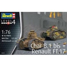 FT-17 Renault Tank with Hotchkiss MG