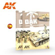 DAK. Vehículos Alemanes en el norte de África ES