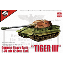 PRE-ORDER 1:35 German WWII E-75 heavy tank with 128mm gun