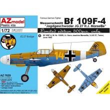 1:72 BF 109F-4 JG.27